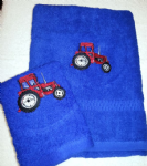 RED TRACTOR PERSONALISED TOWEL SET